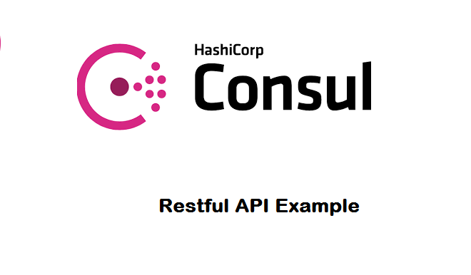 Rest api example learn rest api tutorials and articles for Consul example