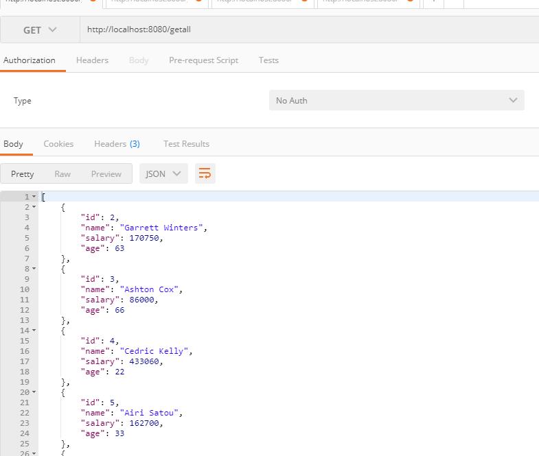 Create CRUD Rest API using Spring Boot and JPA