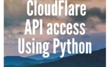 How To Access AWS Api Using Boto3 and Python