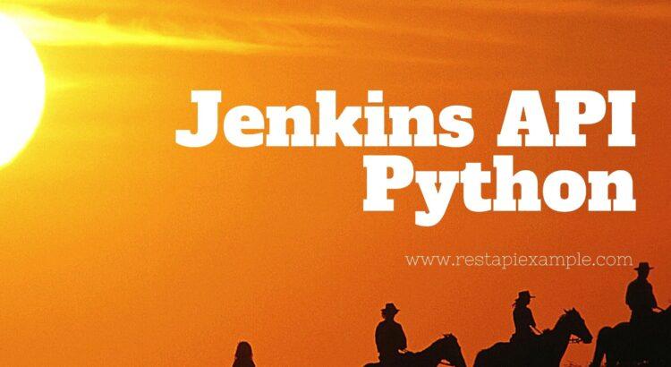 jenkins-api-python